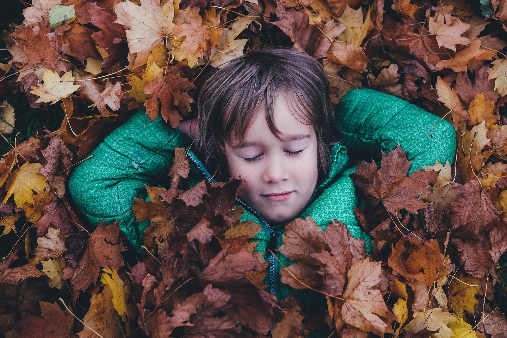 Lapsen turvapaikka löytyy luonnosta